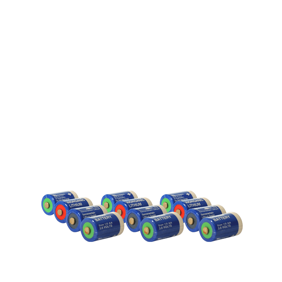 Manchonnage piles lithium inorganic