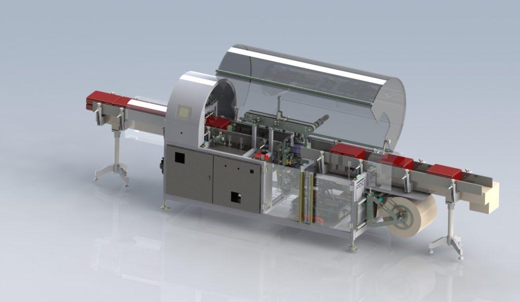 Horizon: 1st fully automated horizontal stretch sleeve applicator