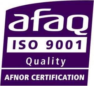 Certification ISO 9001 délivré par l'Afaq à Webdyn