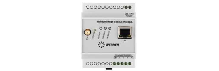 Concentrateur WebdynBridge Wavenis-Modbus